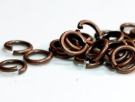 Колечко соединительное, открытое, цвет античная медь (состаренная),