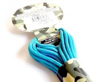 Паракорд, шнур Para Cord 325 Turquoise, цвет бирюзово-голубой, толщина 3 мм., длина шнура 6,4 метра