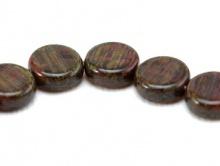 янтарно-коричн евая бусина