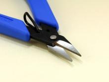 Профессиональные ножницы по металлу XURON для ювелирных работ с металлом, дают ровную кромку на срезе