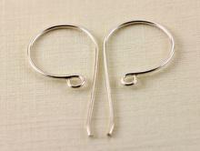 Швензы серебряные для изготовления сережек и авторских серёг. Материал-серебро 925 пробы