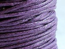 Качественный натуральный вощеный шнур из 100% хлопка