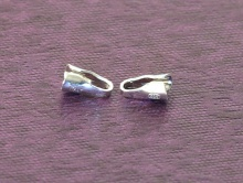 Концевик серебряный на шнур 1.5 мм. материал серебро 925 (sterling silver).