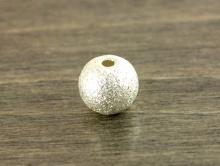 Бусина серебряная распорка, шарик 5,7х6,2 мм. для изготовления украшенияй Handmade.