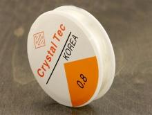 Резинка эластичная нить производство Китай, катушка 11.5 м. диаметр 0.8 мм., эконом класс,