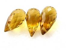 Топаз золотистый 10х5,5 мм.