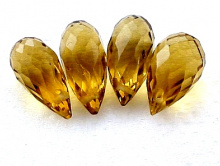 бусина топаз золотистый