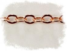 Цепочка Gold Filled (розовое золото) 2.5х2.1х0,3 мм.