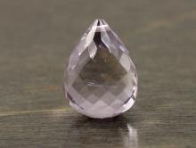 камень-аметист натуральный, цвет-лавандовый сиренево-лиловый,