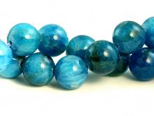 Бусины круглые из камня, камень натуральный-апатит,форма бусин: гладкий шарик,цвет-неоднородный сине-голубой теплый, со светлым, красивая структура камня.