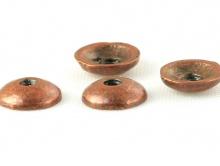 Шапочка для бусин цвет медь античная, фурнитура для изготовления бижутерии