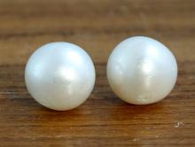Бусины из жемчуга крупные 10 мм. (+-0.5 мм.) для изготовления украшений