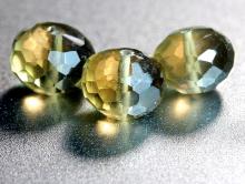 Бусина ограненная формы рондель, камень-цитрин, натуральный ограненный.Цвет-приглушенный желтый с чайным оттенком, мутно-прозрачный.