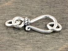 Замочек крючок из серебра Sterling silver