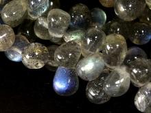Бусина камень-лабрадор с хорошим переливом, для изготовления украшений