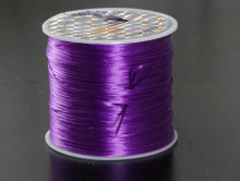 Резинка для браслетов 0.5 мм. цв. сине-фиолетовый.