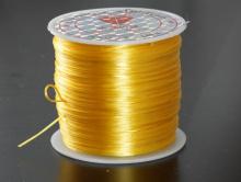 Резинка эластичная нить Китай, цвет желтый