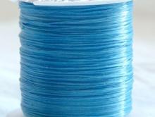 Эластичная нить это резинка 0.5 мм.  цвет голубой. Изготовлено в Китае