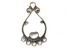 Подвеска-люстра серебряная для ювелирных украшений
