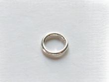 Соединительное колечко серебряное закрытое. Фурнитура из серебра для украшений, материал-серебро 925 (92.5 %).