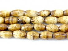 Бусины из натуральной кости 9х6 мм.
