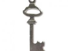 Заготовка ключ, серебрянный сплав