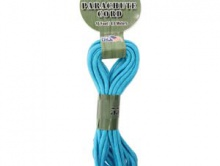 Паракорд, шнур PARA Cord 550 цвет голубой, толщина 4 мм., длина 4.8 метра (на 2 стандартных браслета),