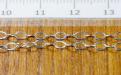 Цепочка Sterling Silver паяная серебряная, материал:сплав серебро 925 пробы,