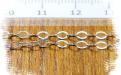 Цепочка Sterling Silver паяная серебряная, материал:сплав серебро 925 пробы, цепочка легкая, воздушная,средняя,