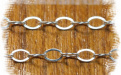 Цепочка паяная Sterling Silver серебряная,, легкая, воздушная с хорошей игрой граней
