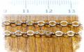 Цепочка паяная серебряная, материал:Sterling Silver (состав: серебро 925 пробы)средняя,