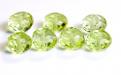 Бусинаполированная, форма рондель,камень-лимонный топаз натуральный,