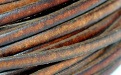 Кожаный шнур плоский3х1.2 мм,используетсядля украшений Handmade, плотный, средней жесткости, цвет-шоколадно-золотистый (цвет гнедой),