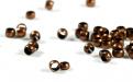 Бусина-кримп, цвет-медь античная (состаренная), размер д/в-1.4х1.8 мм. вн. отв. 1.6 мм