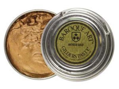 """ПАСТА BAROQUE ART Antique Gold на основе воска и пудры олова, применяется для декоративного покрытия, """"позолочения"""""""