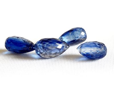 бусины бриолеты синий цвет сочный глубокий синий для рукоделия
