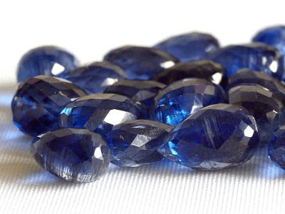 бусины для изготовления подвесок  для серёг яркий синий цвет