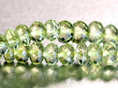 Бусинаполированная, форма рондель,камень-лимонный топаз натуральный,цвет-чистый лимонный, однородный.